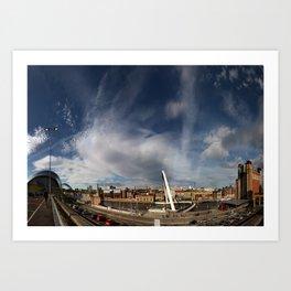 Gateshead Quayside Art Print
