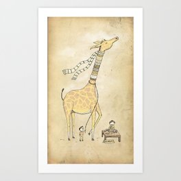 Good day for business Art Print