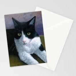 Cat 577 Tuxedo Cat Stationery Cards