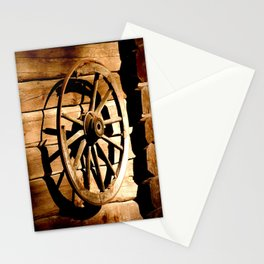 Old Cartwheel #decor #society6 Stationery Cards