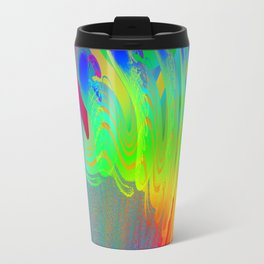 Embryo of coloured fantasy ... Travel Mug