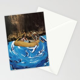 gently down the stream Stationery Cards