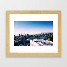 The Rooftops Framed Art Print