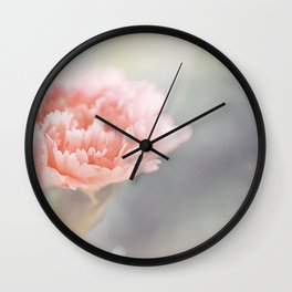 Carnation in Pink Wall Clock
