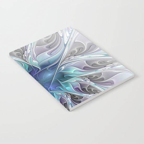 Flourish Abstract Notebook