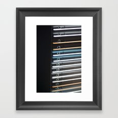 Parallel Framed Art Print