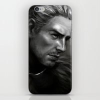 dragon age iPhone & iPod Skins featuring Dragon Age - Cullen by anivy