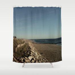 Oceanic landscape: Lacanau  3 Shower Curtain