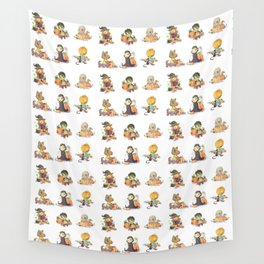 Baby monsters Wall Tapestry