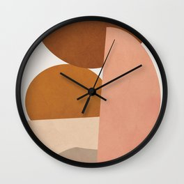 Abstract Stack I Wall Clock