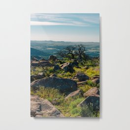 Wichita Mountains National Wildlife Refuge III Metal Print