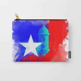 San Juan P.R Watercolor Carry-All Pouch