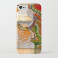 pushing daisies iPhone & iPod Cases featuring Pushing Paradise by Brenda Starr