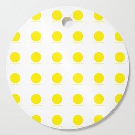 Canary Yellow Cutting Board