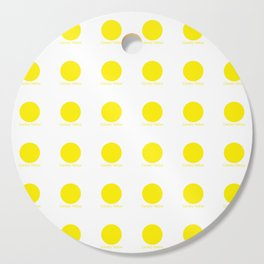 Canary Yellow Cutting Board