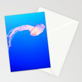 Drifting Jellyfish Stationery Cards