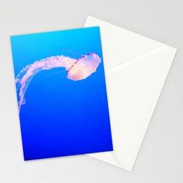 Drifting Jellyfish Stationery Cards