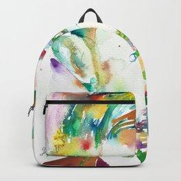 HENRI DE TOULOUSE-LAUTREC - watercolor portrait Backpack