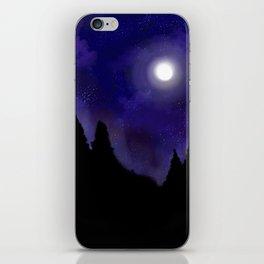 Midnight Moon iPhone Skin