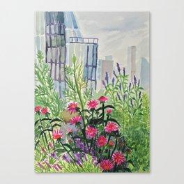 Highline on a Summer Day Canvas Print