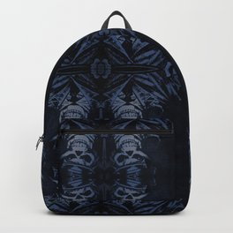 Death Driver Pattern (Large) Backpack