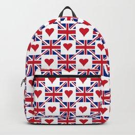 Flag of UK 15- London,united kingdom,england,english,british,great britain,Glasgow,scotland,wales Backpack