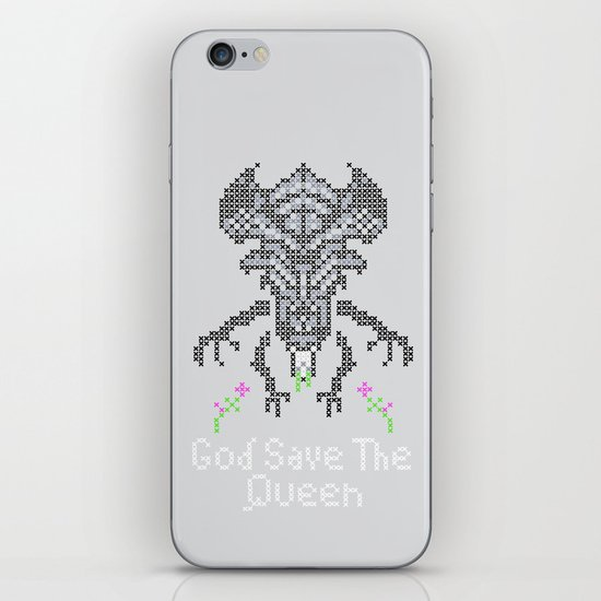 Xenobroidery iPhone & iPod Skin