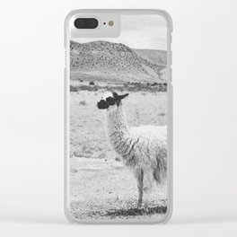 LLAMAS / Tupiza, Bolivia Clear iPhone Case