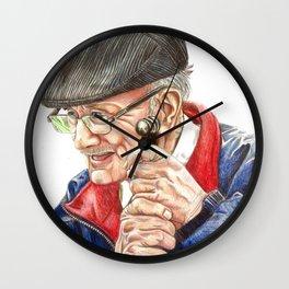 Cane Wall Clock
