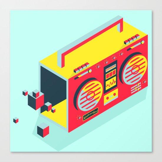 Radio Jam Canvas Print