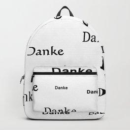 Thanks for living ( German ) Backpack