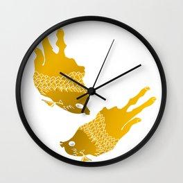 sod off fish twice Wall Clock