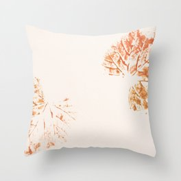 Autumn leaves 2 Throw Pillow