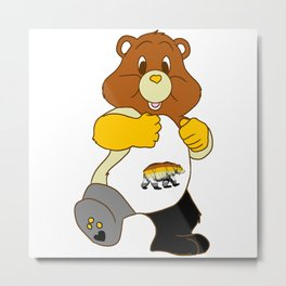 Big Sexy Bear Metal Print
