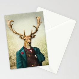 Lord Staghorne in the wood Stationery Cards