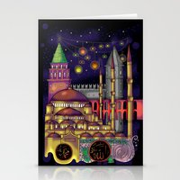 istanbul Stationery Cards featuring Istanbul  by Aleksandra Jevtovic
