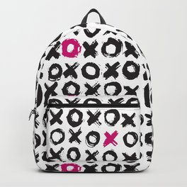 Xs and Os | Hugs and Kisses Pattern | LOVE Backpack