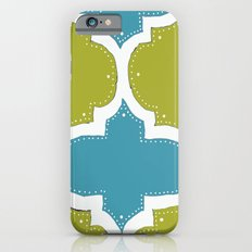 Morocco Blue & Gold iPhone 6s Slim Case