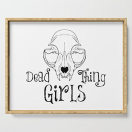 Dead Thing Girls Serving Tray