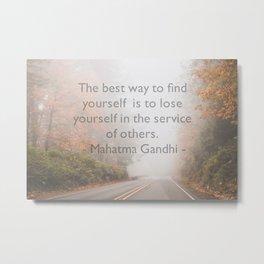 Service Metal Print