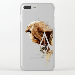 Assassins Creed Bayek Sands Print Clear iPhone Case