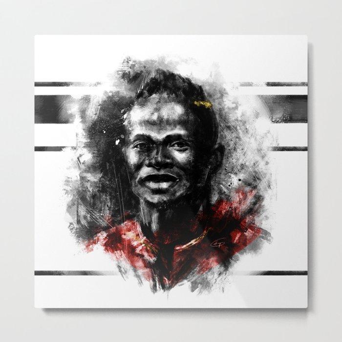 Manè Metal Print