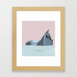 Riverside Museum Zaha Hadid Framed Art Print