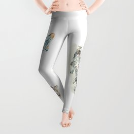 Koi Fish Watercolour Leggings