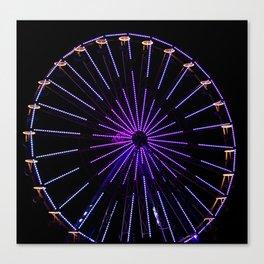 Fun on the Ferris wheel Canvas Print