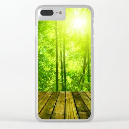 Asian Forest || Clear iPhone Case