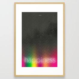 Serotonin/Happiness - Brain Chemistry Series Framed Art Print