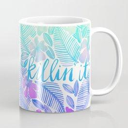 Killin' It – Turquoise + Lavender Ombré Coffee Mug