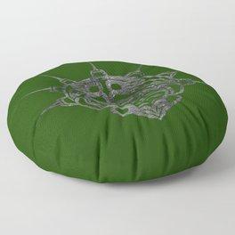 Smoke Frog Grass Floor Pillow