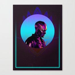 Nebula 80's Character Poster Canvas Print